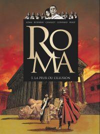 Roma T5 : À l'origine du mal, bd chez Glénat de Convard, Boisserie, Chaillet, Penet