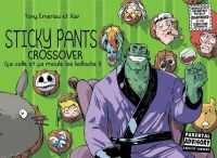 Sticky pants T3 : Crossover  (0), comics chez Monsieur Pop Corn de Emeriau, Henrion