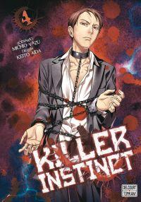 Killer instinct T4, manga chez Tonkam de Yazu, Aida