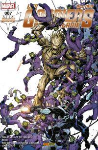 All-New Les Gardiens de la Galaxie T7 : Le nouvel ordre galactique (0), comics chez Panini Comics de Young, Punk, Humphries, Bendis, Bunn, Garron, Bean, Hepburn, Schiti, Beaulieu, Fabela, Isanove, Adams
