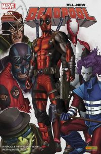 All-New Deadpool T7 : Les pros à payer, comics chez Panini Comics de Auckerman, Bunn, Duggan, Brown, Espin, Koblish, Keith, Staples, Horn
