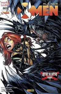 All-New X-Men T7 : Les guerres d'Apocalypse (3/3), comics chez Panini Comics de Hopeless, Bunn, Lemire, Ramos, Bagley, Lashley, Almara, Delgado, Woodard