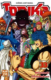 Toriko T33, manga chez Kazé manga de Shimabukuro