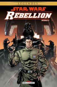 Star Wars - Rébellion T2, comics chez Delcourt de Badeaux, Williams, Barlow, Wilson, Lacombe, Glass