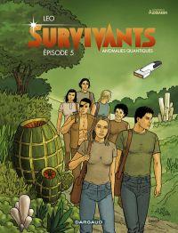 Survivants T5, bd chez Dargaud de Léo