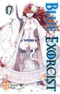 Blue exorcist T17, manga chez Kazé manga de Kato