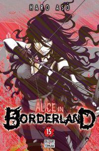 Alice in borderland T15 : , manga chez Delcourt de Haro