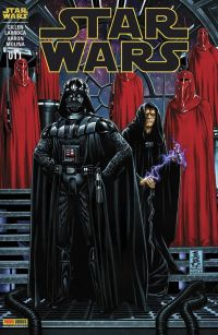 Star Wars (revue Marvel) V1 T11 : Le dernier vol du Harbinger (0), comics chez Panini Comics de Aaron, Gillen, Larroca, Molina, Milla, Delgado, Brooks