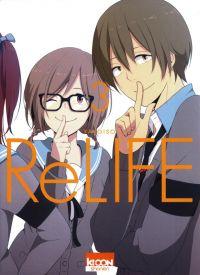 ReLife T3, manga chez Ki-oon de Yayoiso
