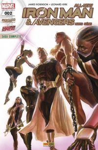 All-New Iron Man & Avengers - Hors Série T2 : Squadron Supreme - Qui veut la fin veut les moyens (0), comics chez Panini Comics de Robinson, Kirk, Guru efx, Martin jr, Ross