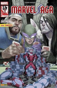 Marvel Saga T4 : The Astonishing Ant-Man, comics chez Panini Comics de Spencer, Schoonover, Rosanas, Boyd, Quintana, Tedesco