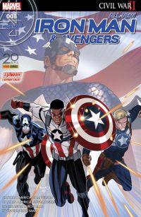 All-New  Iron Man & Avengers T8 : Coup de jeune (0), comics chez Panini Comics de Spencer, Bendis, Saiz, Renaud, Unzueta, Maleev, Deodato Jr, Mounts, Martin jr, Almara, Peter