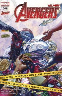 All-New Avengers (revue) T8 : L'affrontement (3/4) (0), comics chez Panini Comics de Duggan, Waid, Ewing, Stegman, To, Kubert, Ramirez, Almara, Isanove, Oback, Silva, Delgado, Ross