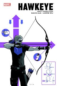 Hawkeye, comics chez Panini Comics de Fraction, Hamm, Aja, Lieber, Wu, Francavilla, Eliopolous, Pulido, Hollingsworth