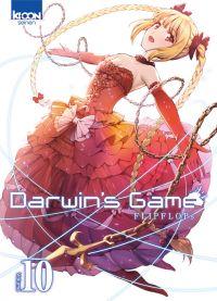 Darwin's game T10, manga chez Ki-oon de FLIPFLOPs