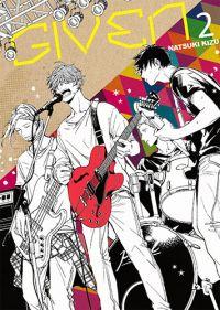 Given T2, manga chez Taïfu comics de Kizu