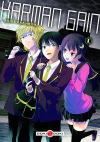 Karman gain T1, manga chez Bamboo de Kazumiya