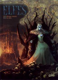 Elfes – cycle Les elfes bleus, T16 : Rouge comme la lave (0), bd chez Soleil de Istin, Duarte, Héban