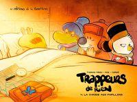 Trappeurs de rien T4 : La chasse aux papillons (0), bd chez Editions de la Gouttière de Pog, Priou, Corgié