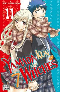 Yamada kun & the 7 witches T11, manga chez Delcourt de Yoshikawa