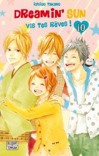 Dreamin'sun T10, manga chez Delcourt de Takano