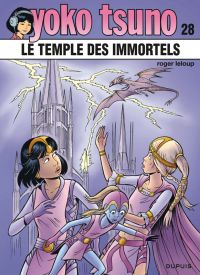 Yoko Tsuno T28 : Le temple des Immortels (0), bd chez Dupuis de Leloup, Léonardo