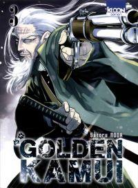 Golden Kamui T3 : , manga chez Ki-oon de Noda