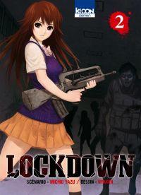 Lockdown T2, manga chez Ki-oon de Yazu, Nykken