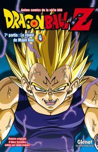 Dragon Ball Z T4, manga chez Glénat de Toriyama