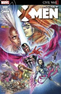 All-New X-Men T9 : Magnéto contre Tornade, comics chez Panini Comics de Sims, Bunn, Hopeless, Bowers, Lemire, Ibañez, Broccardo, Firmansyah, Bagley, Sorrentino, Land, Mogorron, Milla, Ramos, Maiolo, Aburtov, Curiel, Woodard, Yardin