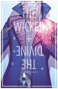 The Wicked + The Divine T2 : Fandemonium (0), comics chez Glénat de Gillen, McKelvie, Wilson