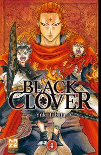 Black clover T4, manga chez Kazé manga de Tabata