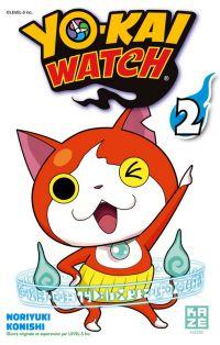Yo-kai watch  T2, manga chez Kazé manga de Level-5, Konishi