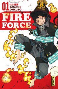 Fire force  T1, manga chez Kana de Ohkubo