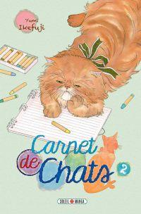 Carnet de chats T2, manga chez Soleil de Ikefuji