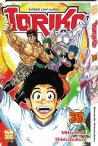 Toriko T35, manga chez Kazé manga de Shimabukuro