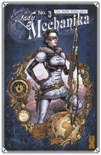 Lady Mechanika T3 : La tablette des destinées (0), comics chez Glénat de Chen, Montiel, Benitez, Garcia