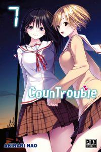 CounTrouble  T7, manga chez Pika de Nao