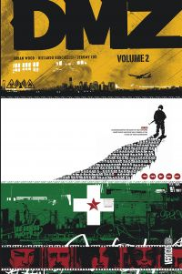 DMZ T2, comics chez Urban Comics de Wood, Kalvachev, Fox, Burchielli, Donaldson, Cox