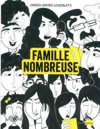 Famille nombreuse, bd chez Marabout de Loueslati