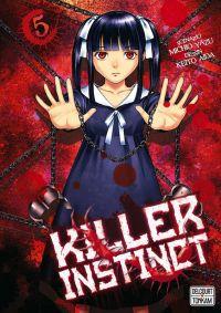 Killer instinct T5, manga chez Delcourt Tonkam de Yazu, Aida