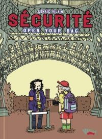 Sécurité Open Your Bag, bd chez Vraoum! de Vilain