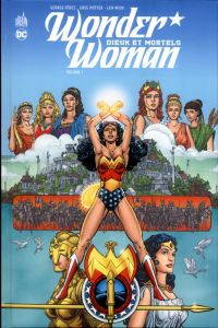 Wonder Woman - Dieux et Mortels T1, comics chez Urban Comics de Potter, Wein, Perez, Wood, Gafford