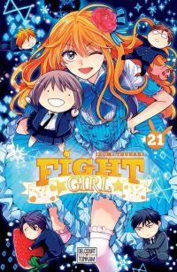 Fight girl T21, manga chez Delcourt Tonkam de Tsubaki