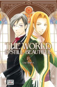 The world is still beautiful T8 : , manga chez Delcourt Tonkam de Shiina