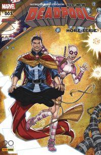 All-New Deadpool Hors Série T3 : Quand on veut, on peut (0), comics chez Panini Comics de Hastings, Strychalski, Gurihiru, Rosenberg, Lim