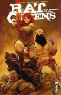 Rat Queens T2 : Quatre filles et un poulpe (0), comics chez Urban Comics de Wiebe, Upchurch, Sejic
