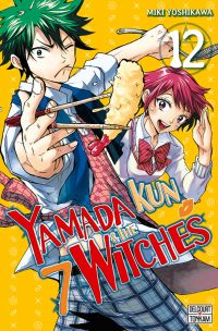 Yamada kun & the 7 witches T12, manga chez Delcourt Tonkam de Yoshikawa