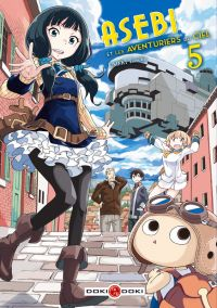 Asebi et les aventuriers du ciel  T5, manga chez Bamboo de Umeki