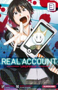 Real account T3, manga chez Kurokawa de Okushou, Shizumukun